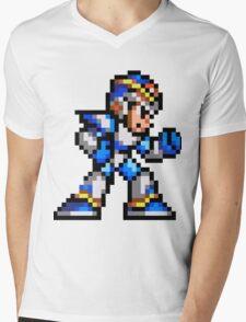 MegaMan X Mens V-Neck T-Shirt