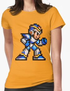 MegaMan X Womens Fitted T-Shirt