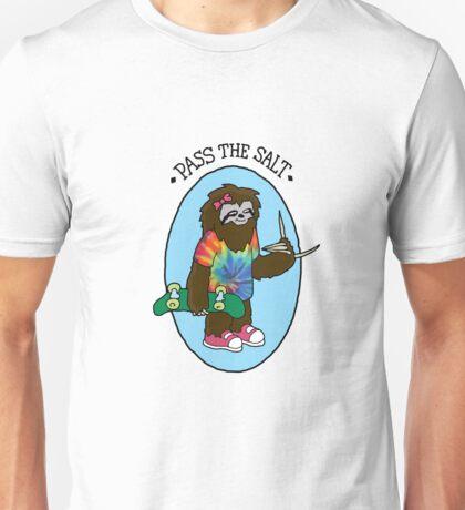 Pass The Salt - Stoner Sloth Unisex T-Shirt