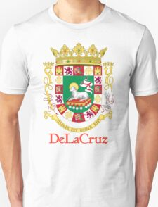 DeLaCruz Shield of Puerto Rico T-Shirt