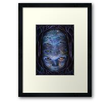 Psychedelic Muse Framed Print