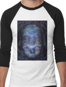 Psychedelic Muse Men's Baseball ¾ T-Shirt