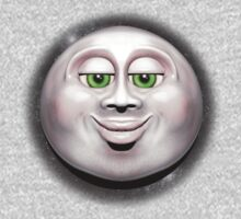 Full Moon Smiling Face 3D  Kids Clothes
