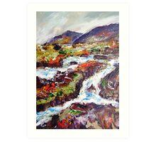 Connemara landscape Art Print