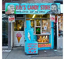 Ray's Candy Store Photographic Print