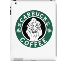 SCARBUCKS (LION KING) iPad Case/Skin