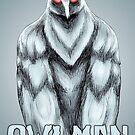Owlman by MetalheadMerch