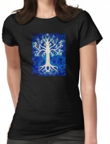 Tree of Gondor Womens Fitted T-Shirt