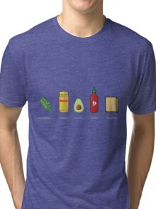 What Vegans Eat Tri-blend T-Shirt