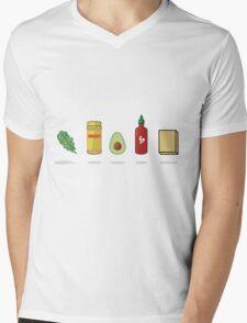 What Vegans Eat Mens V-Neck T-Shirt