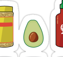 What Vegans Eat Sticker
