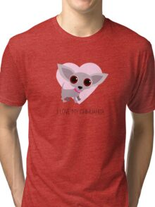 I Love My Chihuahua Tri-blend T-Shirt