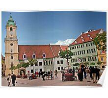 Bratislava Town Hall Poster