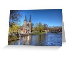 Welcome to Delft ..Holland Greeting Card