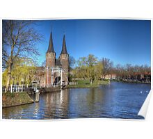 Welcome to Delft ..Holland Poster