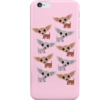 Mini Chihuahuas - pink iPhone Case/Skin