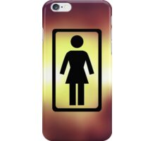Abstract Girl iPhone Case/Skin