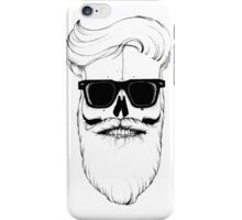 Ray's bearded skull iPhone Case/Skin