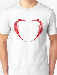 Lil' Miss Rarity Heart Brand (Red) T-Shirt