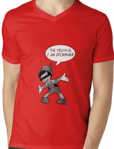 YENSID_i_am_ironman Mens V-Neck T-Shirt