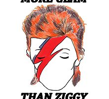 More Glam Than Ziggy Stardust  by casablancaism