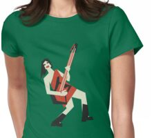 rock me girl Womens Fitted T-Shirt