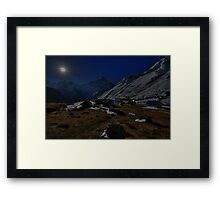 ABC Moonlight Framed Print