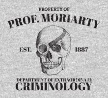 Moriarty's Department of Extraordinary Criminology Kids Clothes