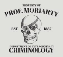 Moriarty's Department of Extraordinary Criminology by darrster