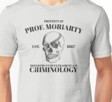 Moriarty's Department of Extraordinary Criminology Unisex T-Shirt