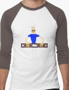 Punk DJ Men's Baseball ¾ T-Shirt