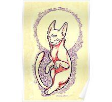 Esotric Cat Poster