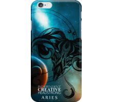 Aries- Independent, Creative and Headstrong iPhone Case/Skin