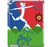 Hoffman Flips Out Bikeride LSD Acid Psychedelic iPad Case/Skin