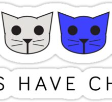 Fours Have Chores - Level 4 MeowMeowBeenz Sticker