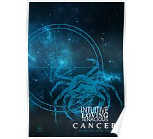 Cancer- Intuitive, loving and Tenacious Poster