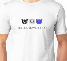 Threes Have Fleas - Level 3 MeowMeowBeenz Unisex T-Shirt