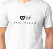Twos Have Blues - Level 2 MeowMeowBeenz Unisex T-Shirt