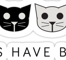 Twos Have Blues - Level 2 MeowMeowBeenz Sticker