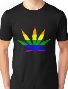 gay weed Unisex T-Shirt