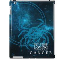 Cancer- Intuitive, loving and Tenacious iPad Case/Skin