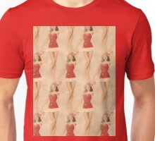 christmas pin up Unisex T-Shirt