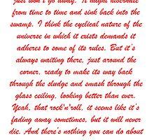 Alex Turner BRITS  by Tom Duerden