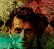 Wittgenstein Artsy Sticker