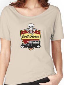 hot rod evil retro skull Women's Relaxed Fit T-Shirt