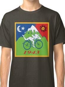 LSD Acid Hofmann Bike ride Blotter Art Psychedelic Classic T-Shirt