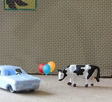 English is a difficult language!  Here are some examples of dipthongs:  car, balloon, cow, Delbert's. by Susan Littlefield