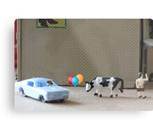 English is a difficult language!  Here are some examples of dipthongs:  car, balloon, cow, Delbert's. Metal Print