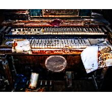 An Organ After Hurricane Katrina Photographic Print