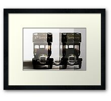 War Vehicle Framed Print